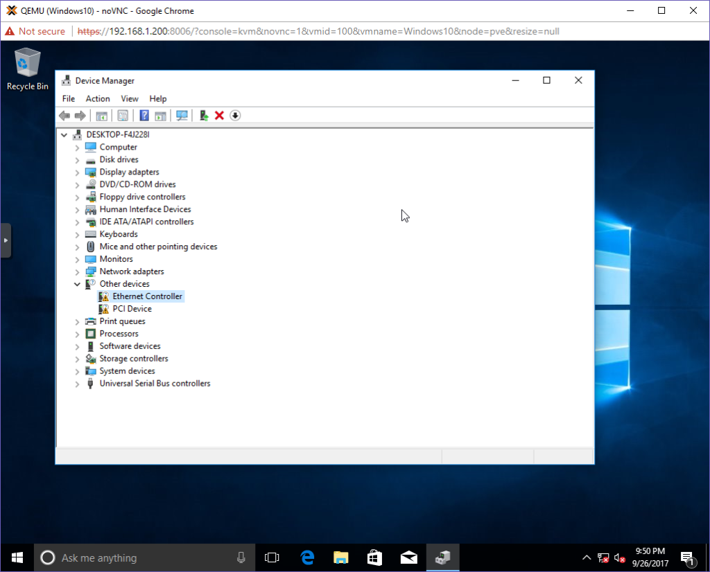 The Idiot installs Windows 10 on Proxmox – Jon Spraggins