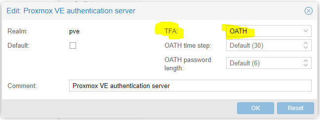The Idiot adds Two Factor Authentication to Proxmox – Jon Spraggins